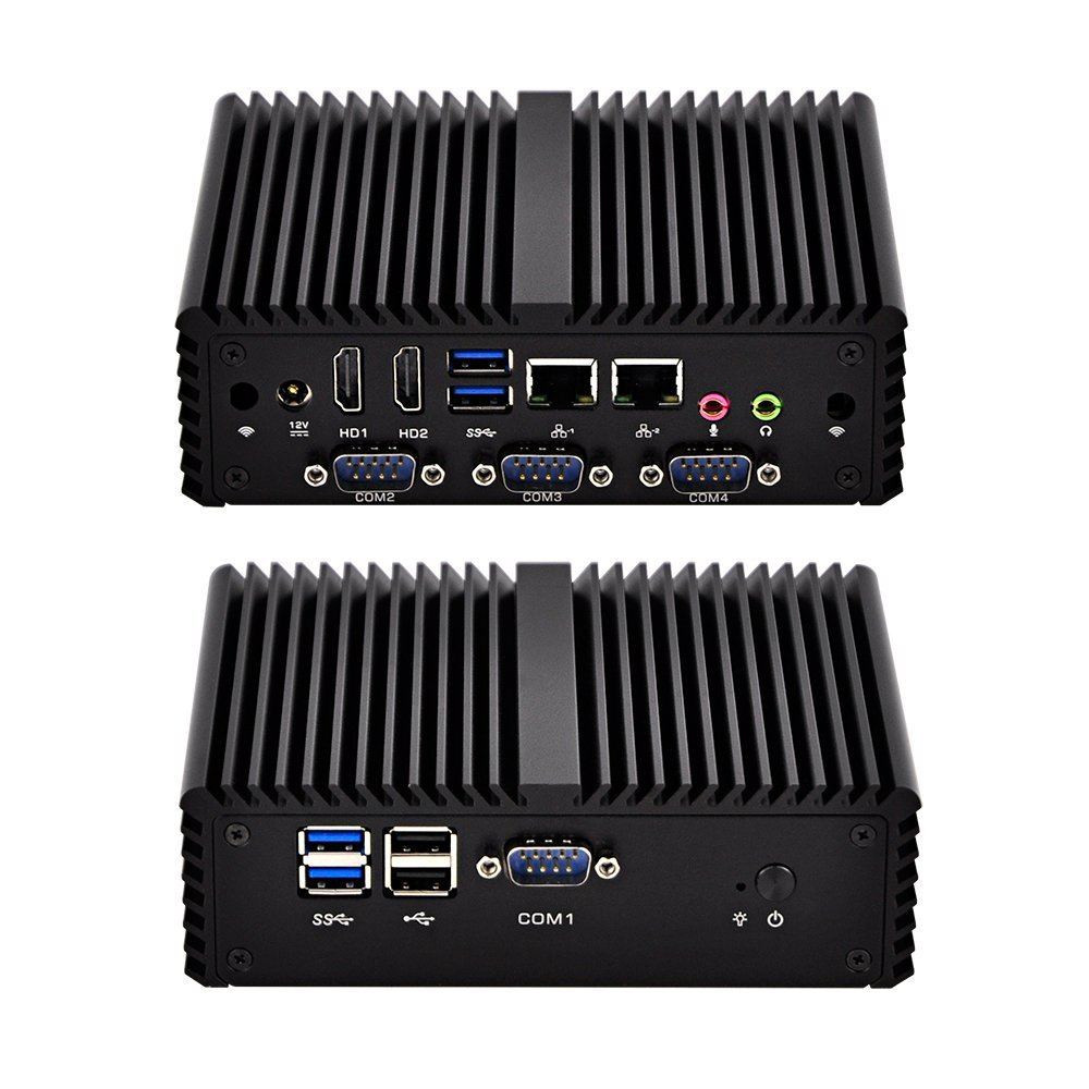Hot Sale Kettop 4 COM i5 Mini Pc Mi4200C4 Intel Core i5-4200U Processor,  2 Lan,HDMI,4 Com,6 Usb,SIM card ports ,3G/4G function,Support Windows Os/Linux